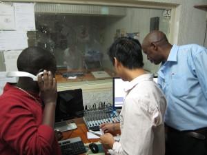 In the CCIB Studio 1