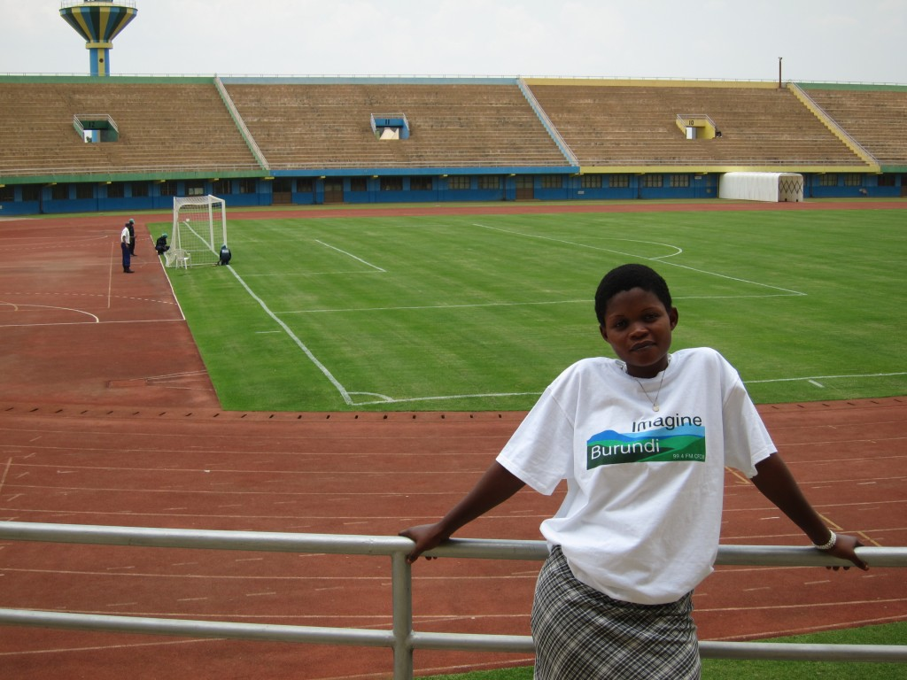Amina at Amahoro Stadium