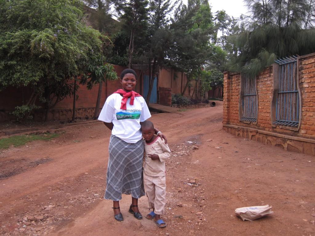 Amina in Nyamirambo.